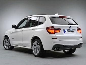 """""""Заряженный"""" BMW X3 получит мотор с тремя турбинами"""