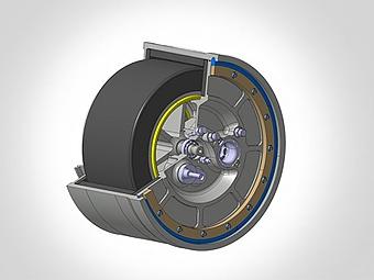 Volvo начнет испытания системы рекуперации с маховиком