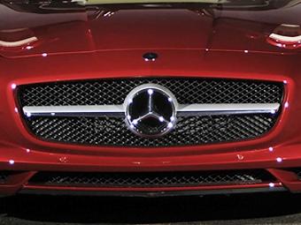 Появились подробности о новом спорткаре Mercedes-Benz