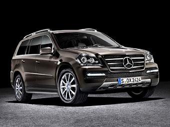Mercedes-Benz представил самый роскошный внедорожник GL-Class