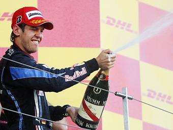 Себастьян Феттель одержал победу на Гран-при Монако