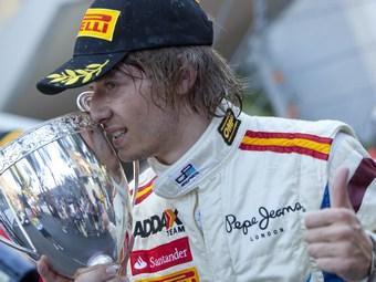 Шарль Пик выиграл вторую гонку GP2 в сезоне