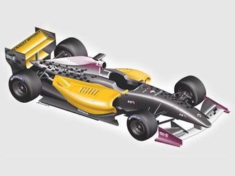 Обновленный болид Формулы-Renault 3.5 дебютирует в 2012 году