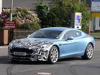 Aston Martin готовит к обновлению модель Rapide