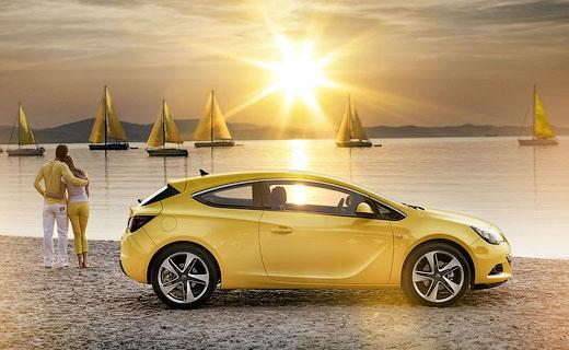 """Компания Opel рассекретила трехдверную """"Астру"""""""
