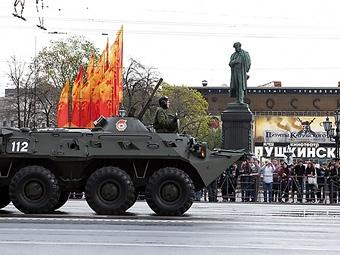 Из-за репетиций парада Победы московские водители потеряли пять миллиардов рублей