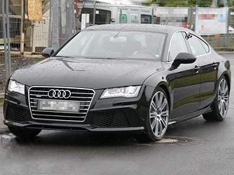 Фотошпионы сфотогрфировали новый Audi S7