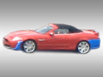 Jaguar готовит открытую версию купе XKR-S