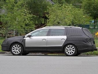 """У VW Passat появится """"внедорожная"""" версия"""