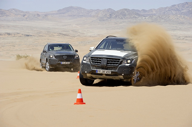 Знакомимся с новым Mercedes-Benz ML в статике