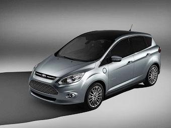 """Ford решил конкурировать с """"Приусом"""" компактвэном С-Max"""