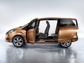 Ford начал тестовый выпуск компактвэнов B-Max