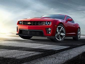 """Chevrolet сделает """"заряженный"""" Camaro мощнее и оснастит его """"автоматом"""""""
