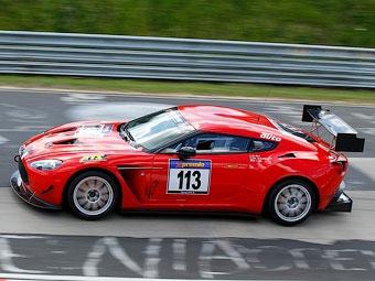 "Aston Martin завершил подготовку нового суперкара к ""24 часам Нюрбургринга"""