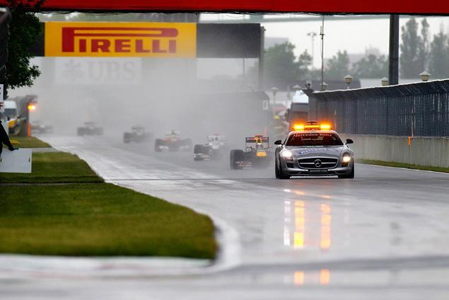 Дженсон Баттон выиграл дождевой Гран-при Канады. Фото 1
