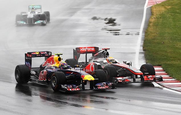 Дженсон Баттон выиграл дождевой Гран-при Канады. Фото 2