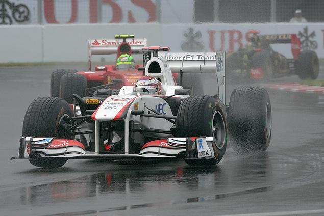 Дженсон Баттон выиграл дождевой Гран-при Канады. Фото 3