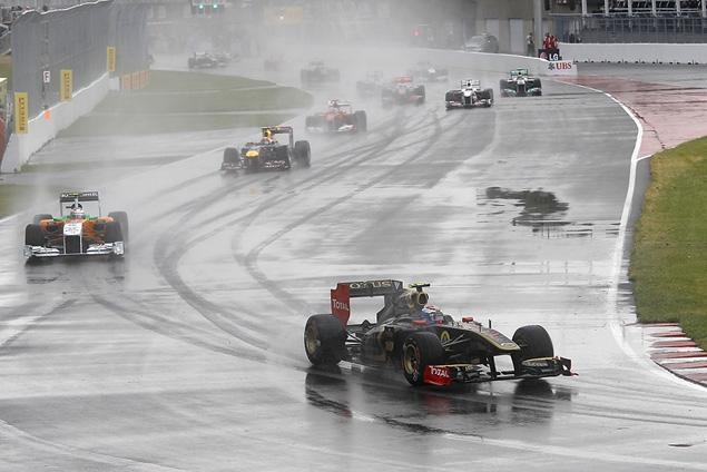 Дженсон Баттон выиграл дождевой Гран-при Канады. Фото 4