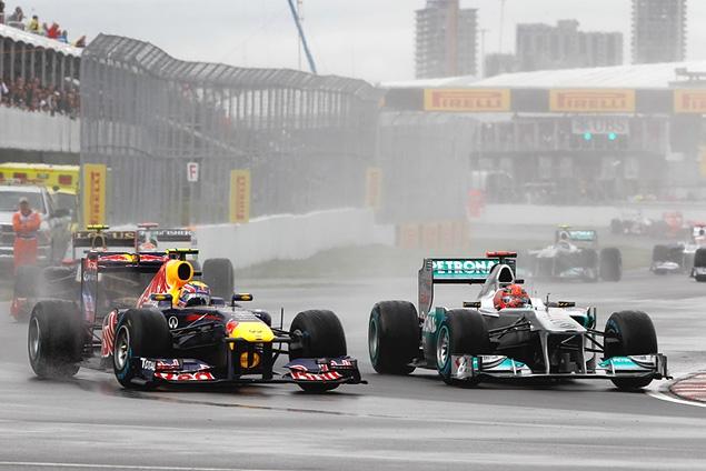 Дженсон Баттон выиграл дождевой Гран-при Канады. Фото 5