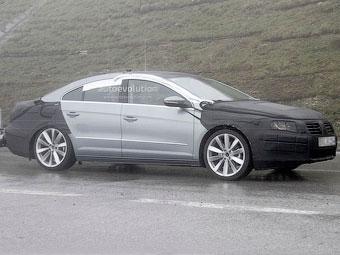 Фотошпионы засняли VW Passat CC нового поколения