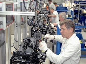 Volkswagen построит в России завод по выпуску двигателей