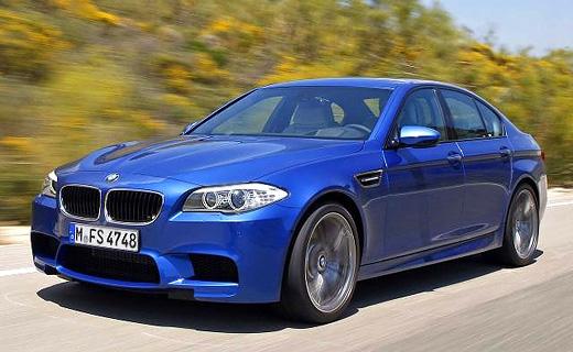 Появились первые фотографии нового BMW M5