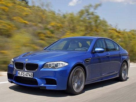 Немецкое издание AutoZeitung опубликовало первые фотографии серийного седана BMW M5 нового поколения