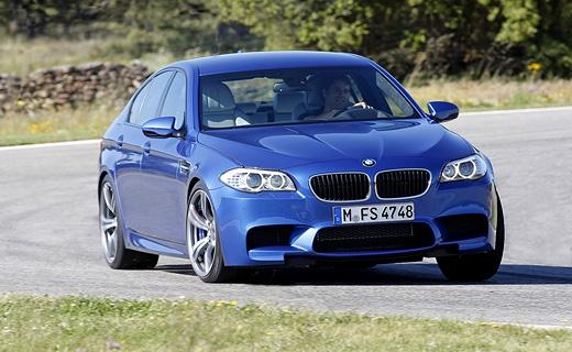Компания BMW официально представила новый седан M5