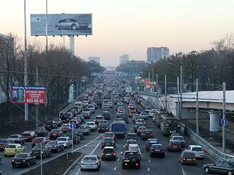 Москва заняла восьмое место среди городов с самыми крупными пробками