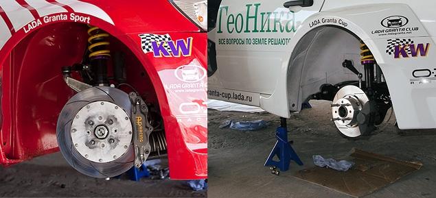 АвтоВАЗ создал гоночную моносерию на автомобилях Lada Granta. Фото 7