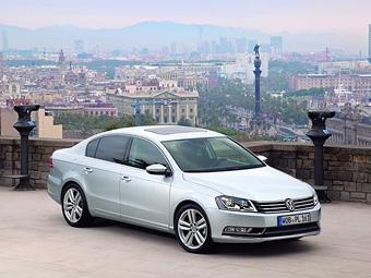 VW Passat ворвался в десятку самых продаваемых автомобилей Европы