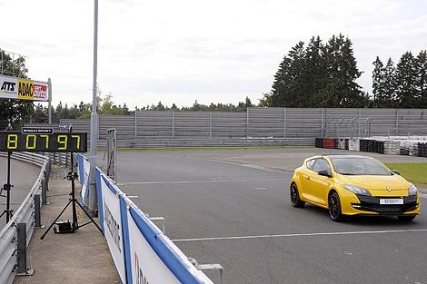 """Renault Megane 265 Trophy проехал """"Северную петлю"""" за 8 минут и 7,97 секунды"""