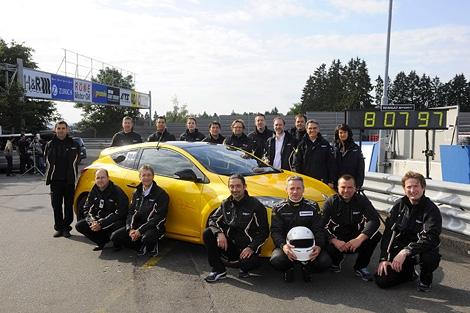 """Renault Megane 265 Trophy проехал """"Северную петлю"""" за 8 минут и 7,97 секунды. Фото 1"""