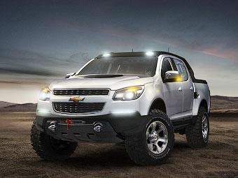 Компания Chevrolet показала раллийный вариант пикапа Colorado