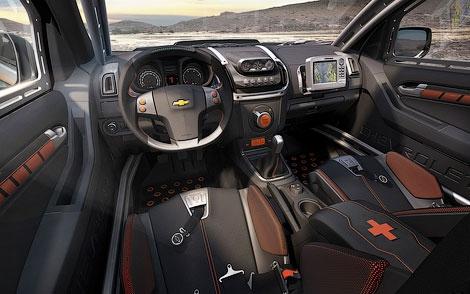 На моторшоу в Буэнос-Айресе состоялась презентация концептуального пикапа Chevrolet Colorado Rally
