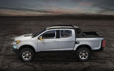 На моторшоу в Буэнос-Айресе состоялась презентация концептуального пикапа Chevrolet Colorado Rally. Фото 1