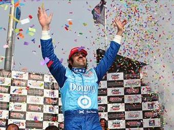Франкитти выиграл гонку INDYCAR на овале в Милуоки