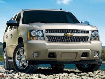 Chevrolet возобновит в России продажи внедорожника Tahoe