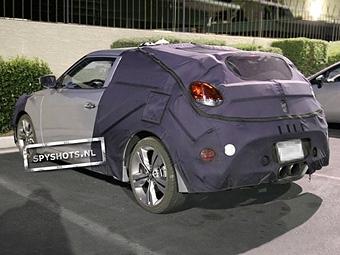 Фотошпионы засняли турбоверсию асимметричного хэтчбека Hyundai