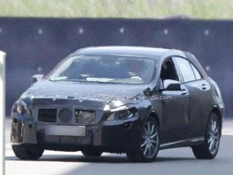 Mercedes-Benz начал испытания нового A-Class