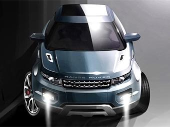 Land Rover подумывает о семейном Evoque