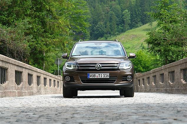 Тест-драйв обновленного VW Tiguan