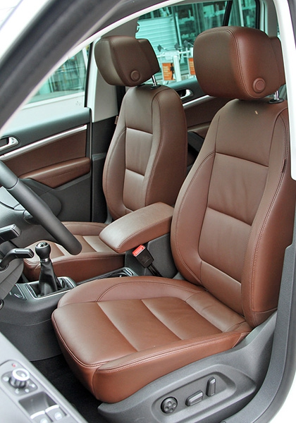 Тест-драйв обновленного VW Tiguan. Фото 4