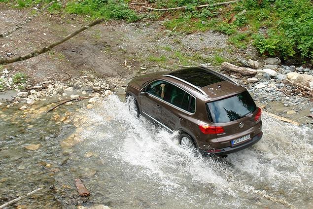 Тест-драйв обновленного VW Tiguan. Фото 11