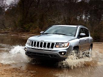 В России начались продажи нового Jeep Compass