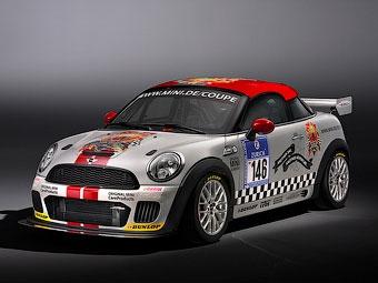 MINI подготовила новое купе к гонкам на выносливость