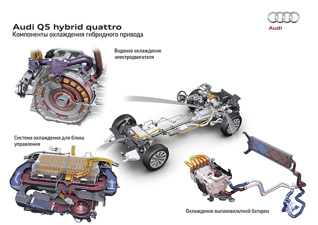 Тест-драйв гибридного кроссовера Audi Q5 Hybrid. Фото 5