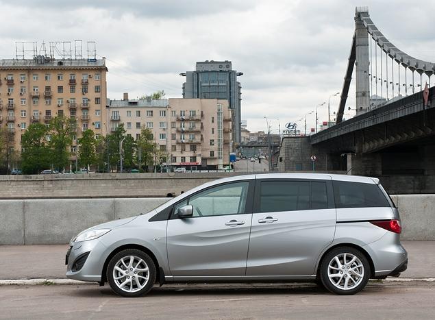 Длительный тест Mazda5: первая неделя