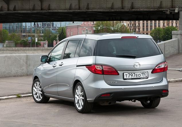 Длительный тест Mazda5: первая неделя. Фото 1