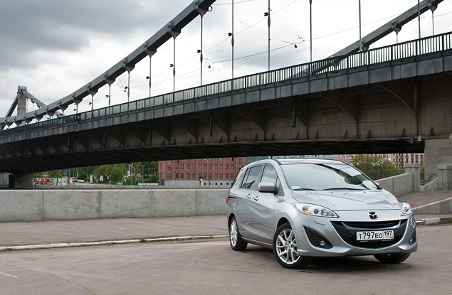 Длительный тест Mazda5: первая неделя. Фото 4